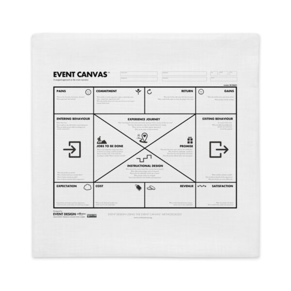 #EventCanvas Premium Pillow Case