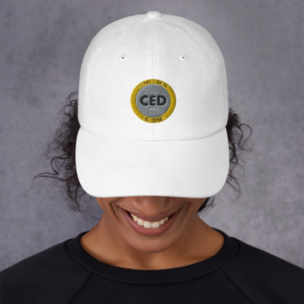 CED hat for Certified Event Designers